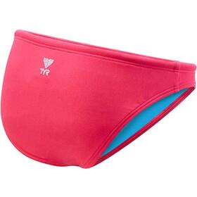 TYR Solid Micro Bas de bikini Femme, fluo pink
